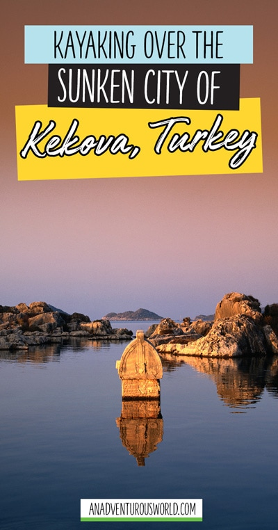 Kayaking over the sunken city of Kekova in southern Turkey, a place frozen in time for nearly 2,000 years, a place now completely forgotten about. Until now.
