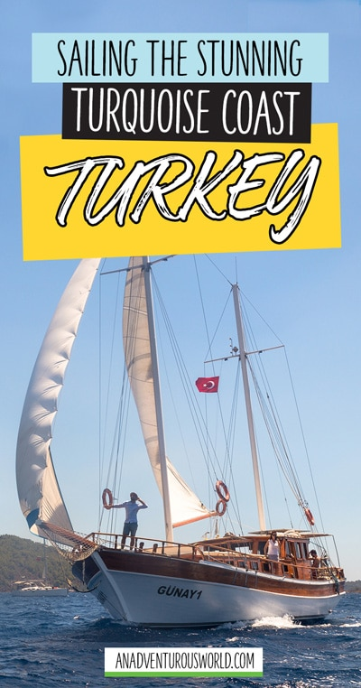 This is what sailing a traditional gulet boat on the Turquoise Coast in Turkey is really like - get ready to be treated like a king for the day!