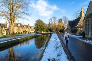 Walking in Lower Slaughter