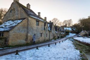 Walking at Arlington Row, the Cotswolds