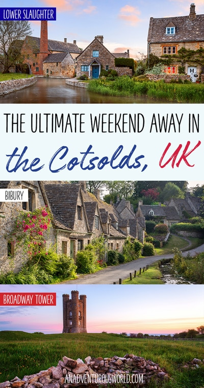 With charming villages, gorgeous landscapes & gourmet dining, a weekend away in the Cotswolds is absolutely amazing for those looking to get away from it all.