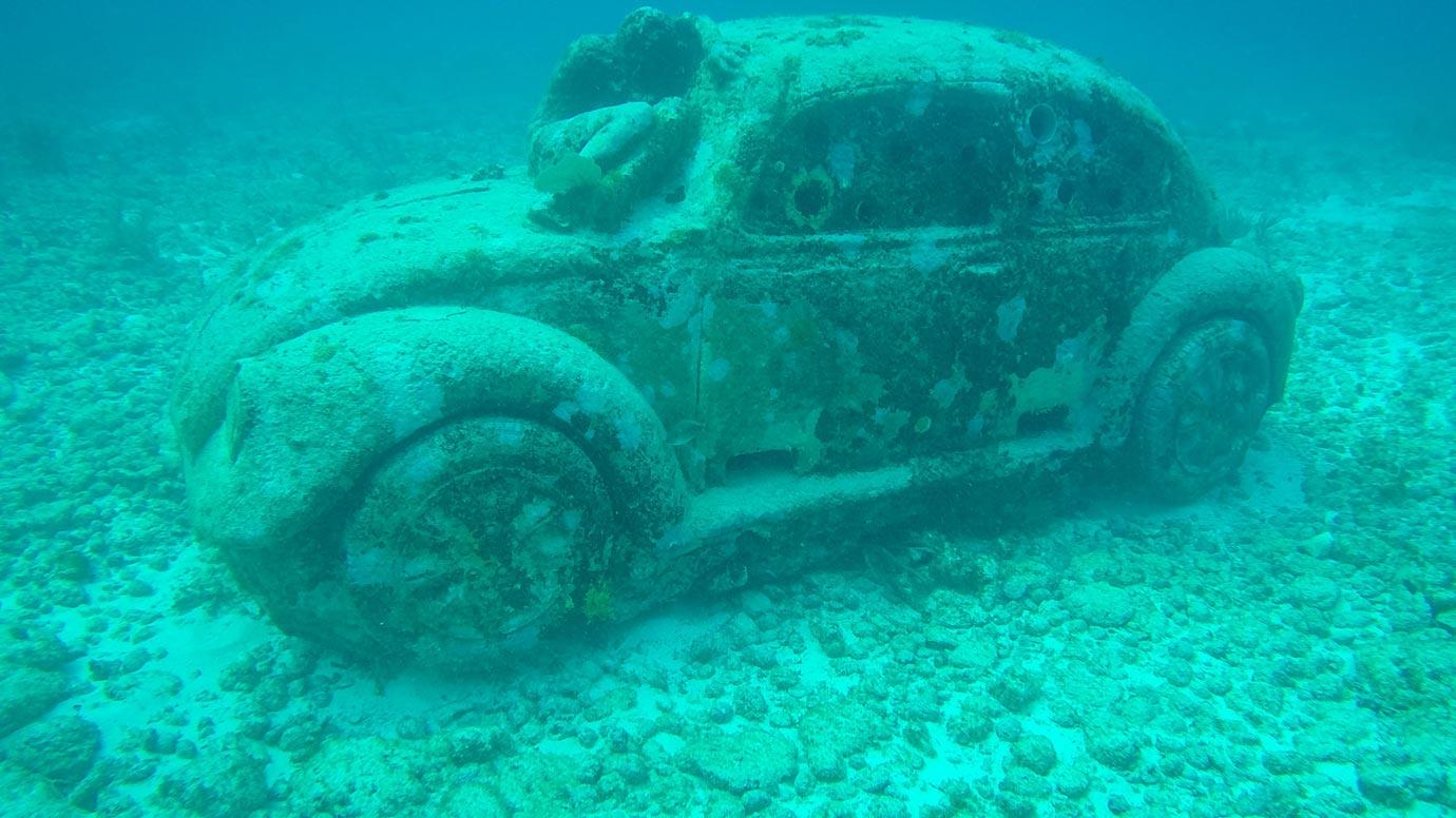 musa underwater sculpture museum
