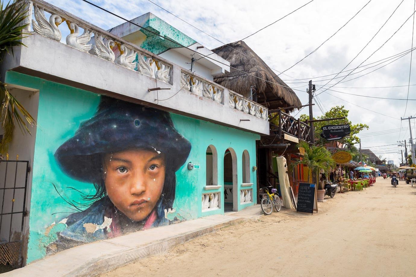 Street Art in Holbox
