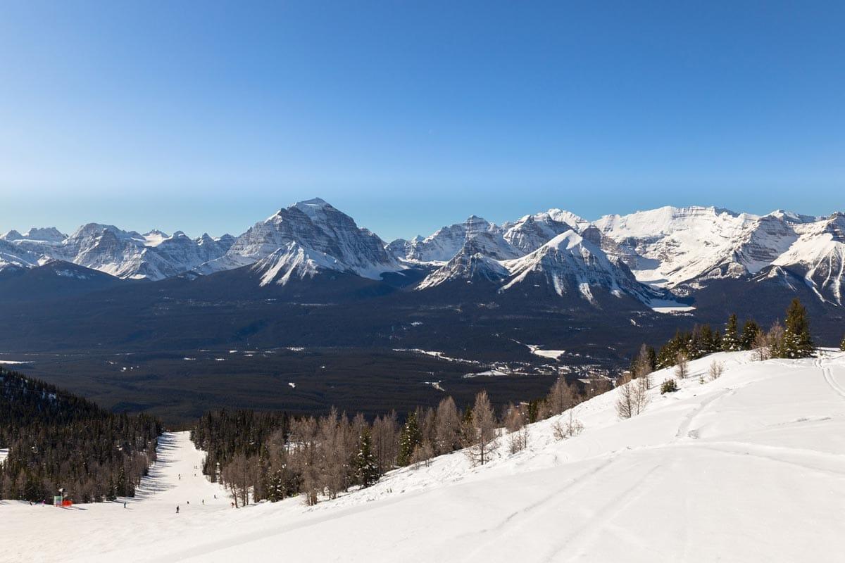 Snow shoeing at Ski Louise