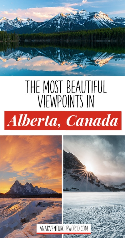Are you looking for the best viewpoints in Alberta? From flying over the Rocky Mountains to exploring Banff, these are the most beautiful viewpoints in Canada.