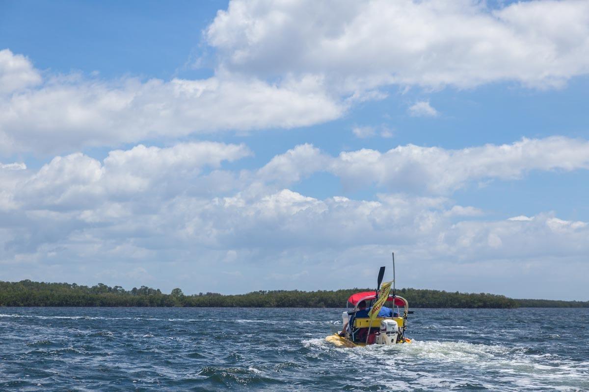 Speedboat tour, Florida