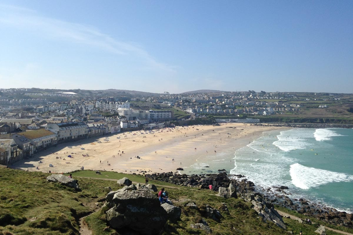 pictures of cornwall beaches