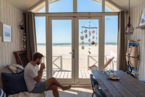 inside beach house, the hague