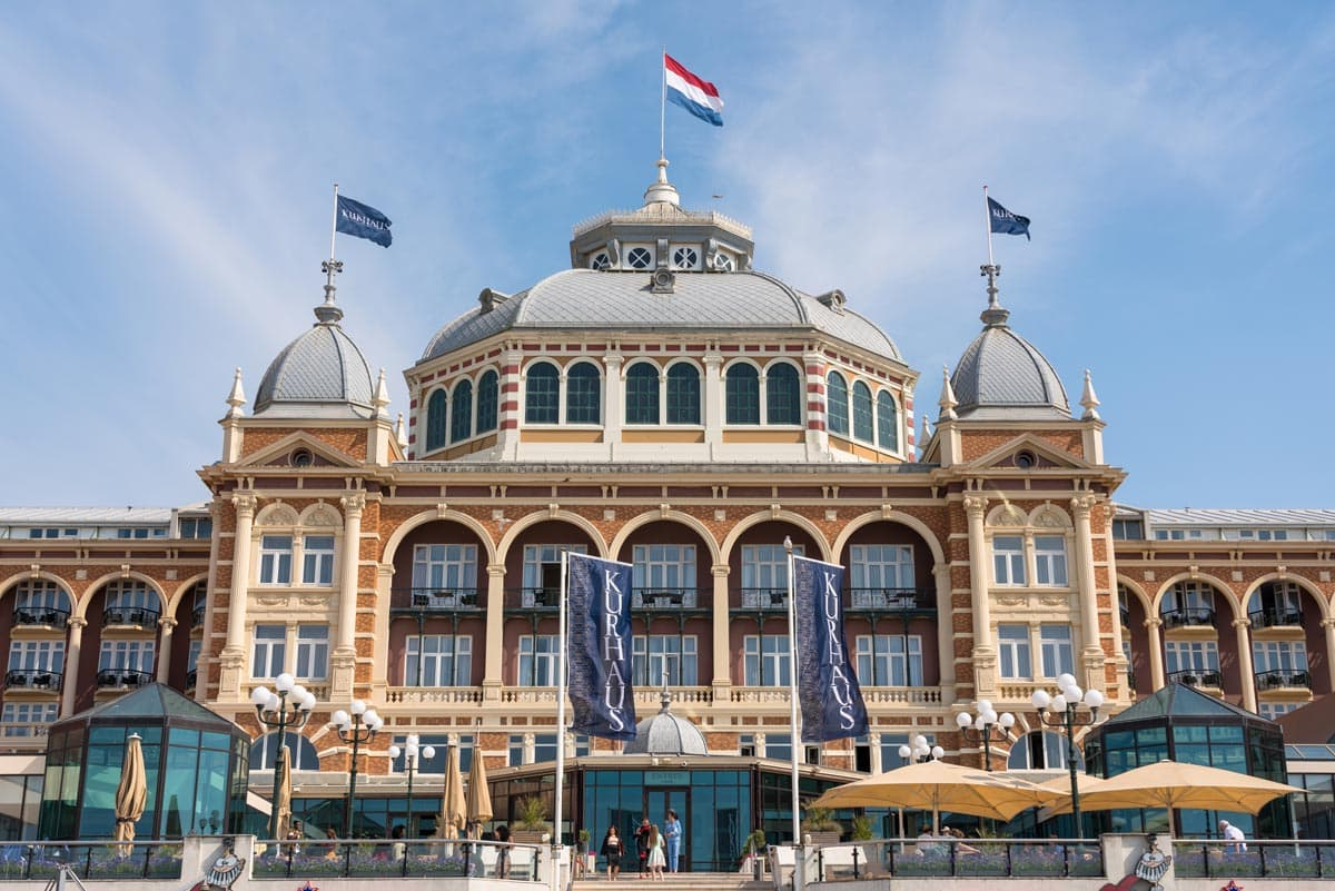 grand palace hotel at scheveningen