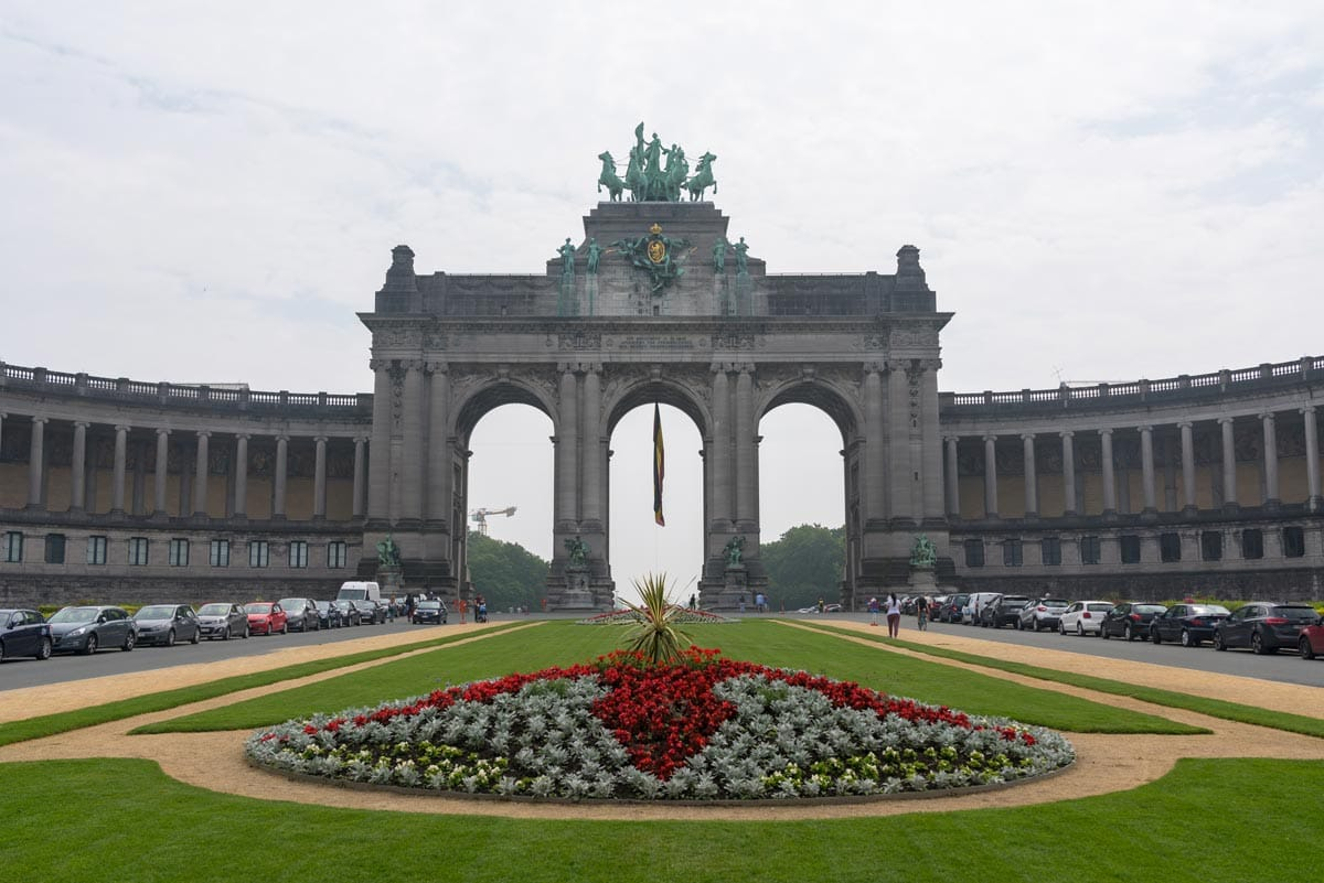 triumphal arch brussels