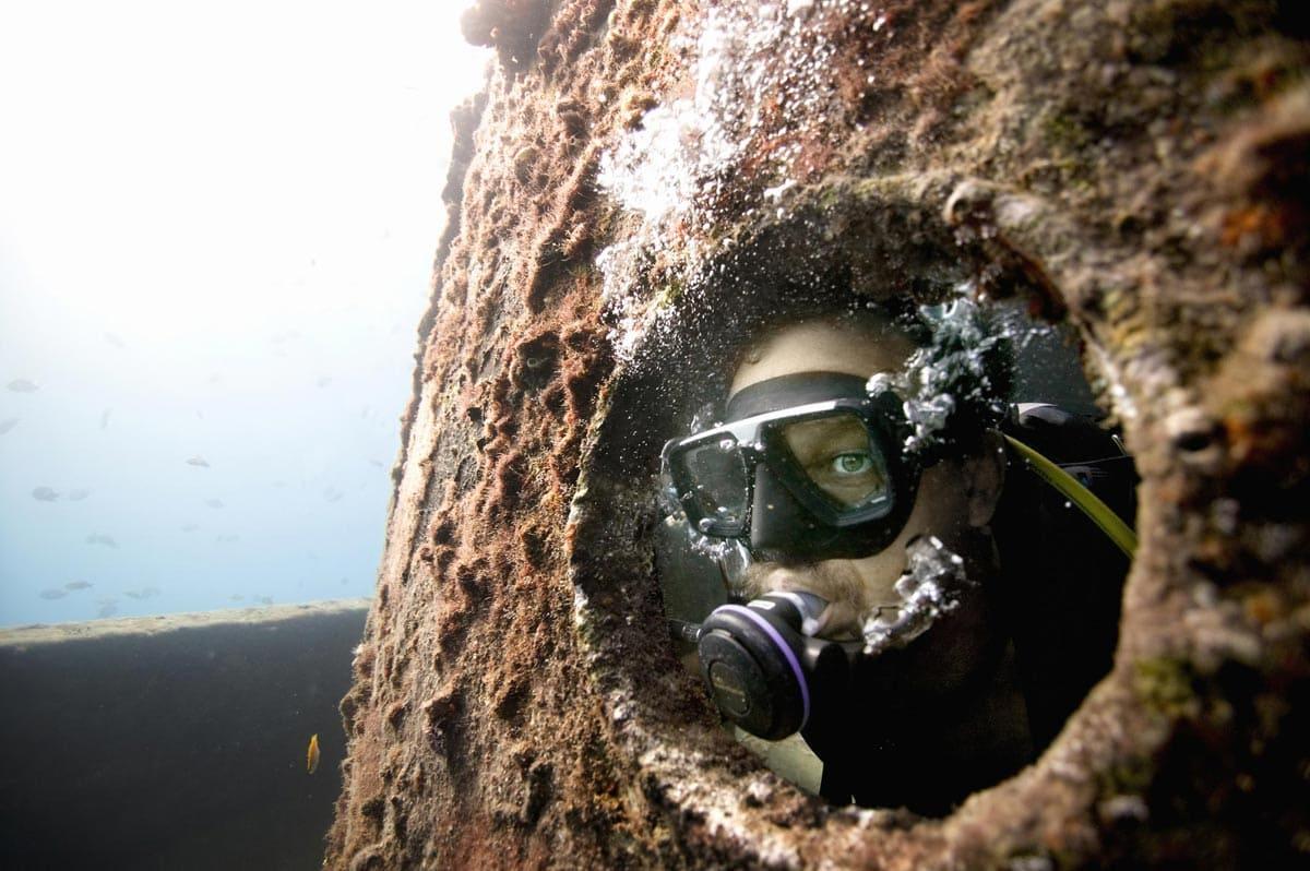 barbados wreck diving