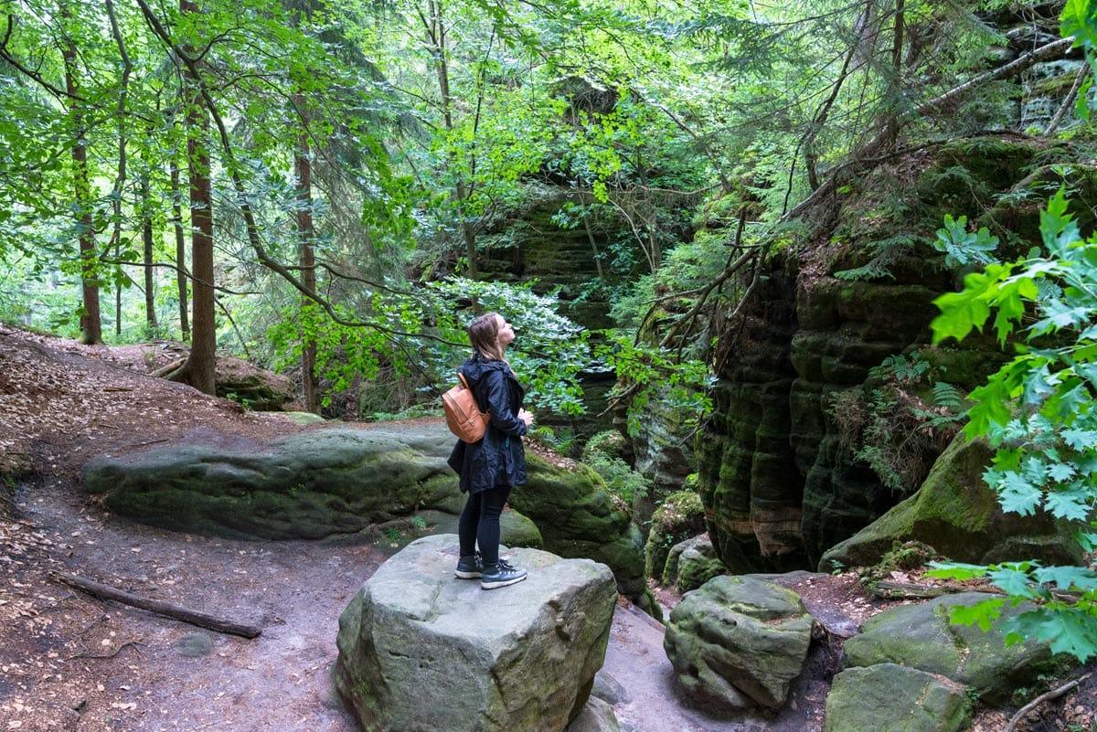 trekking in bastei