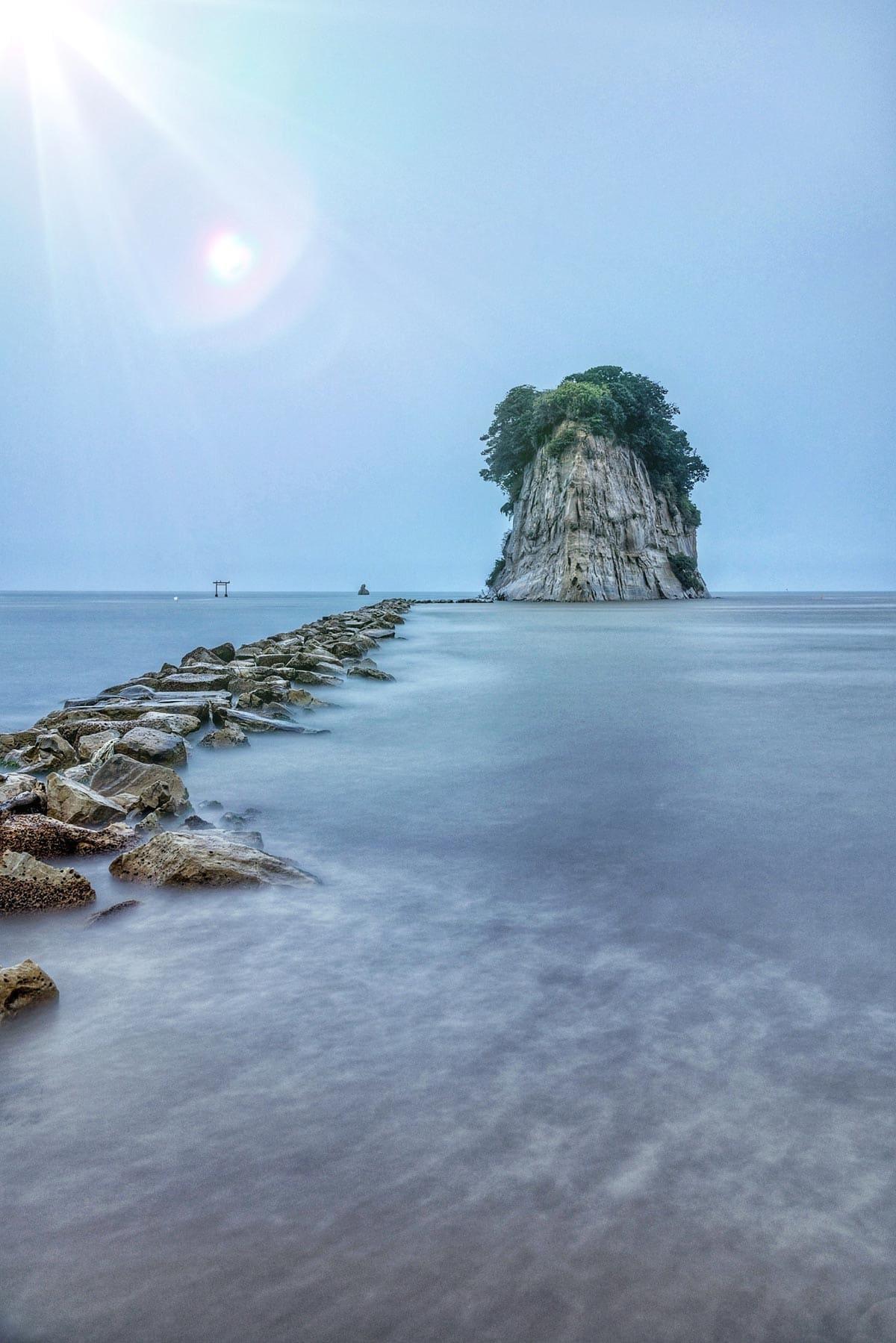 battleship rock japan