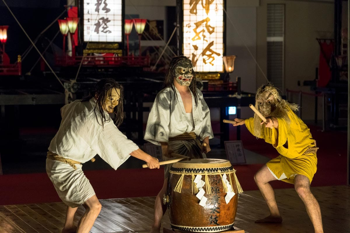 gojinjo drumming japan