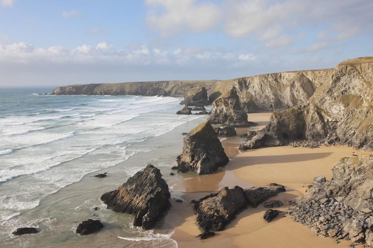 places near the bedruthan steps