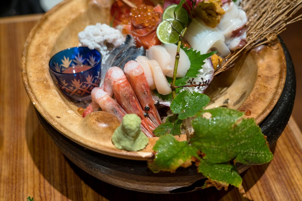 sashimi platter japan