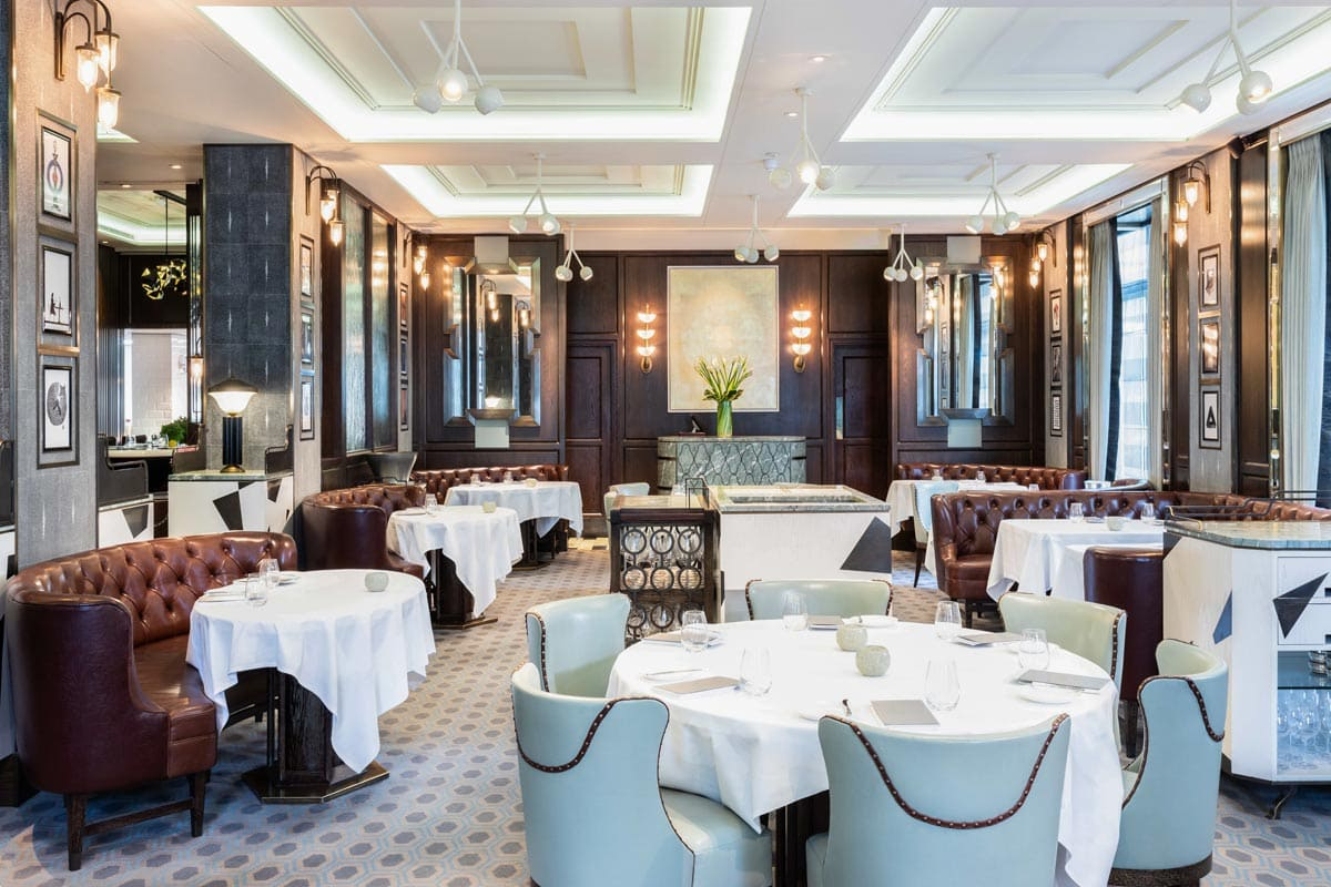 dining room at marcus wareing