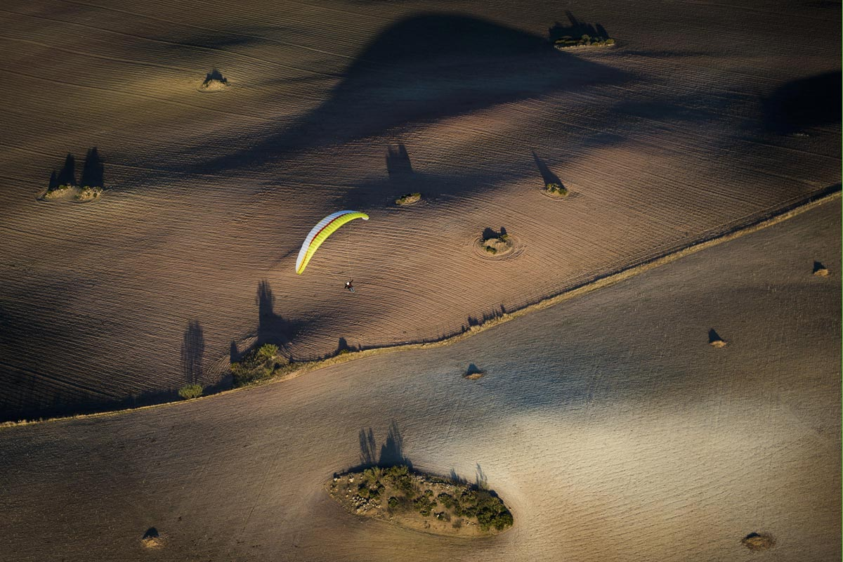 paragliding andalusia