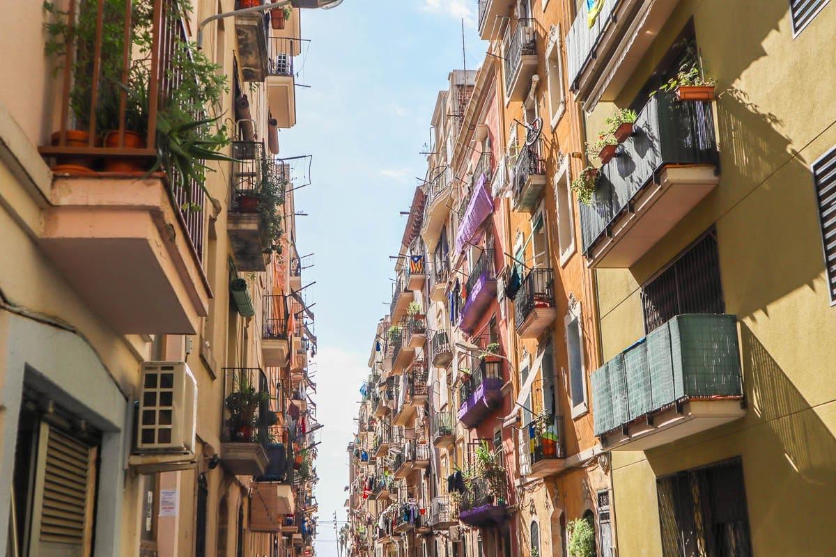 streets in barcelona