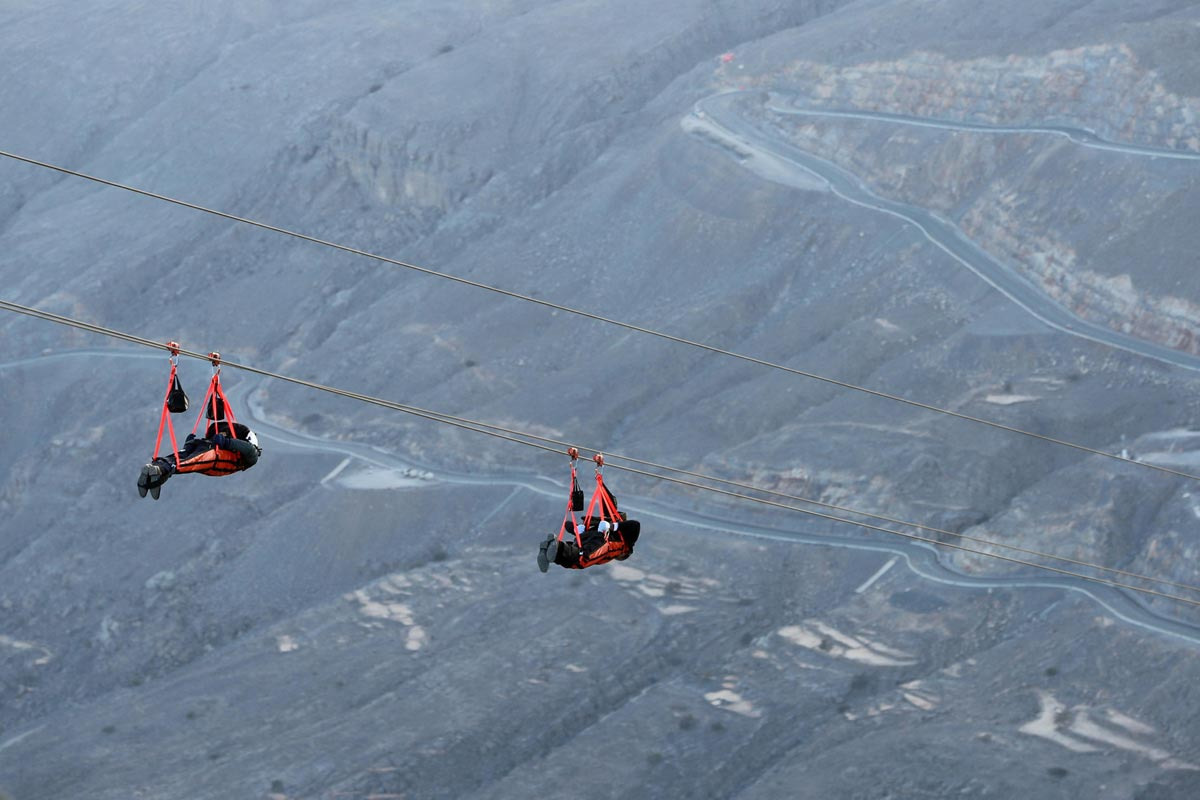 world's longest zipline