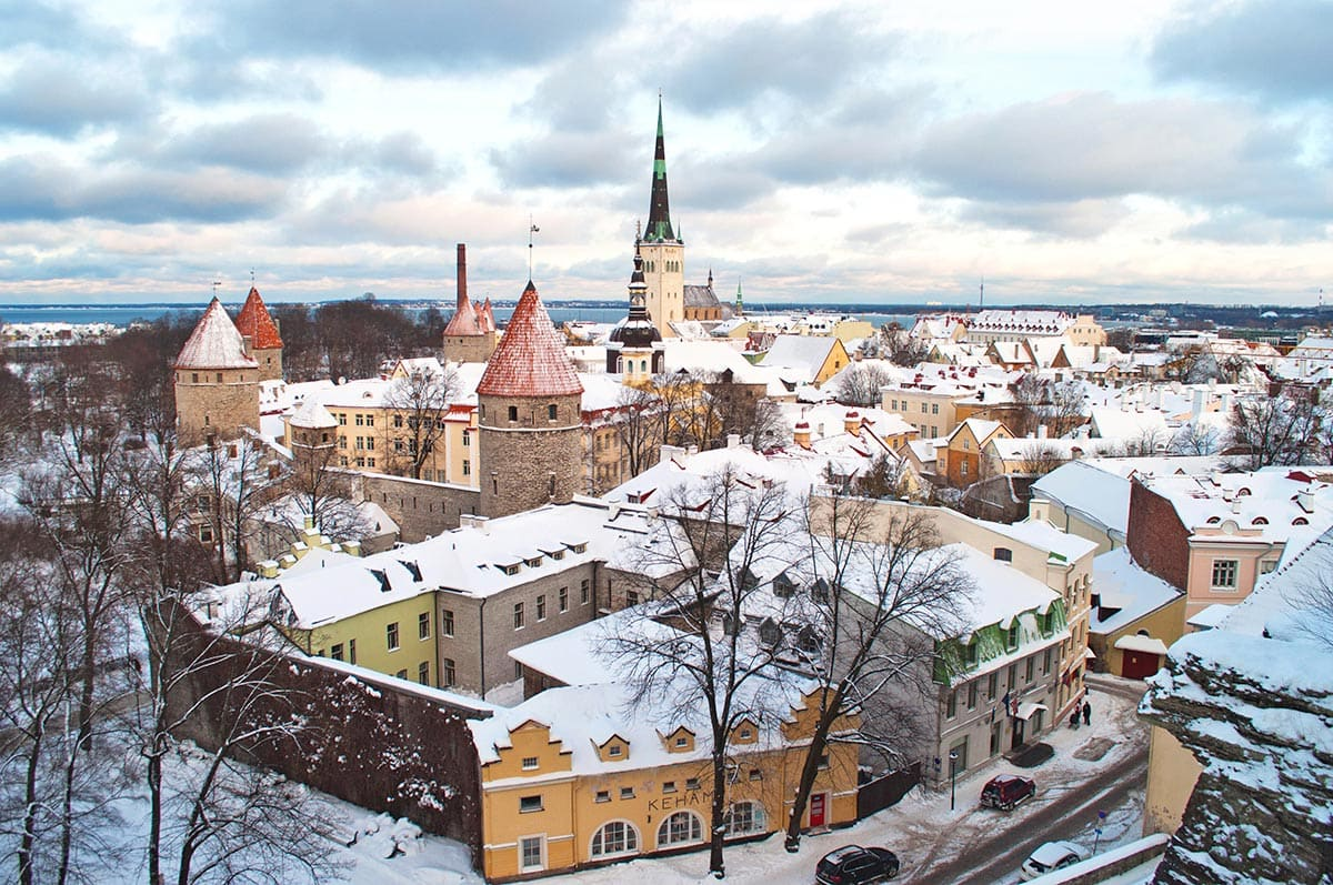 winter activities in estonia
