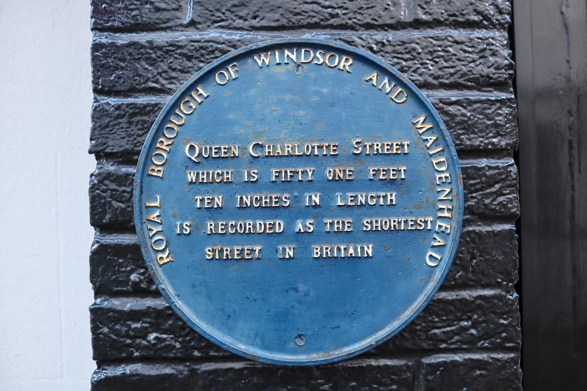 shortest street in britain windsor