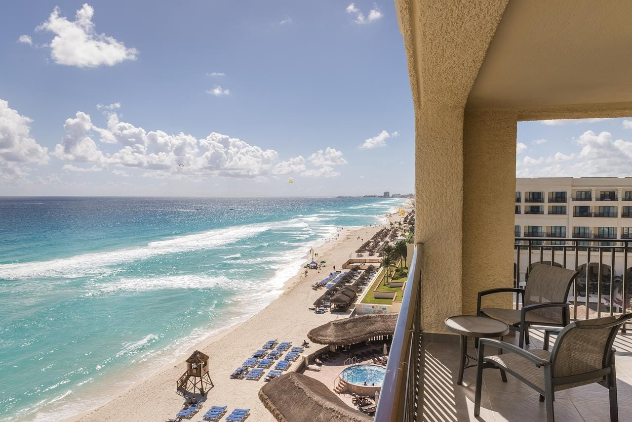 The Marriot Cancun, Mexico