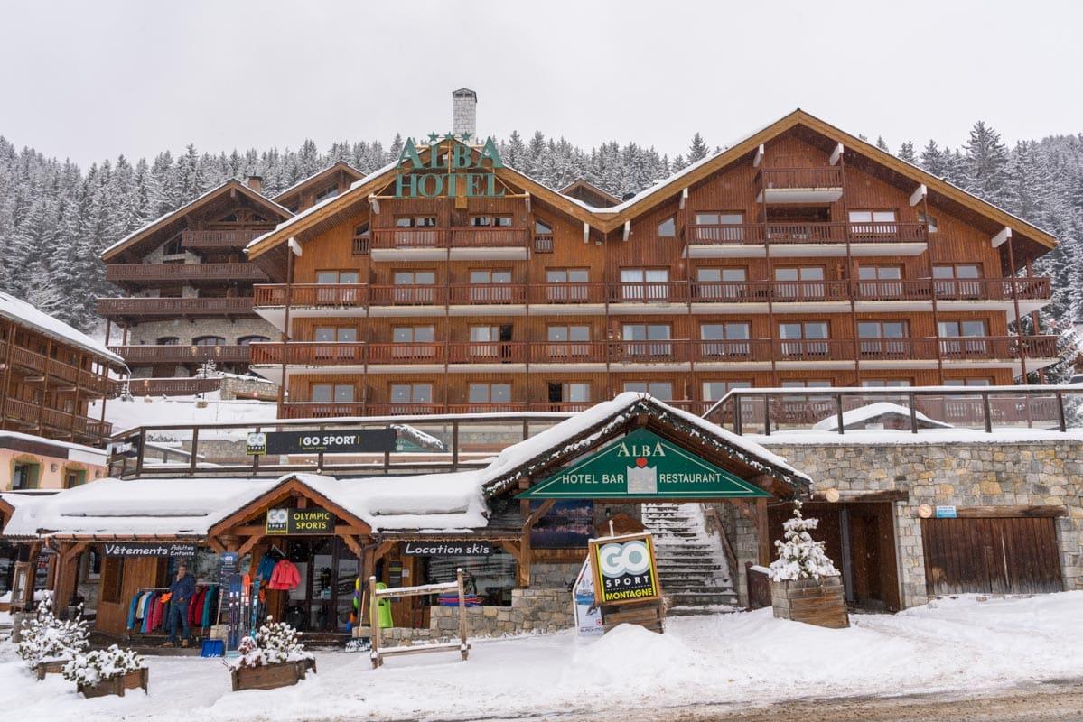 ski total meribel chalets
