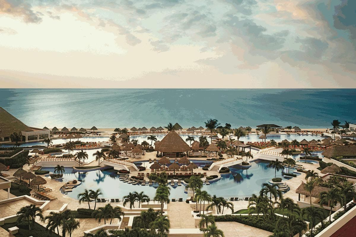 The Grand at Moon Palace, Cancun, Mexico