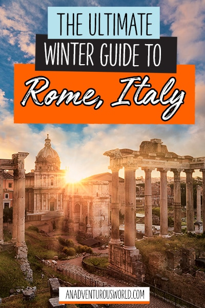 winter guide to rome