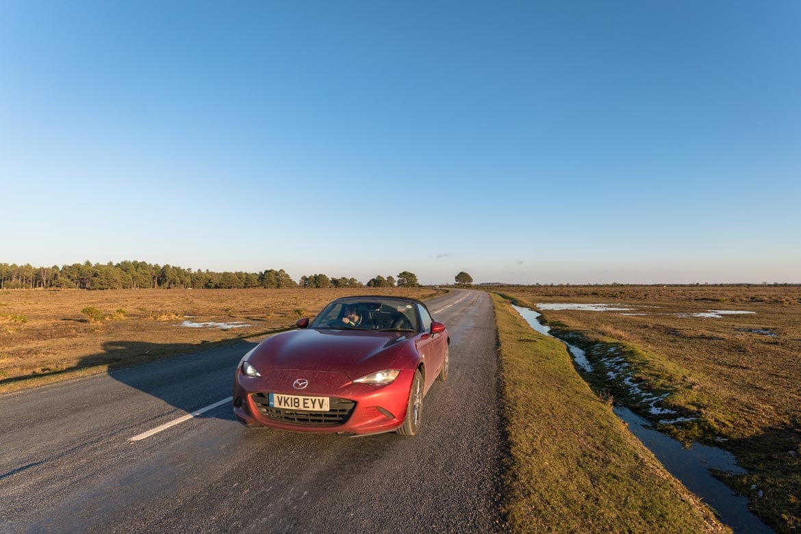 london to new forest by car