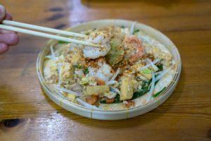 making pad thai bangkok