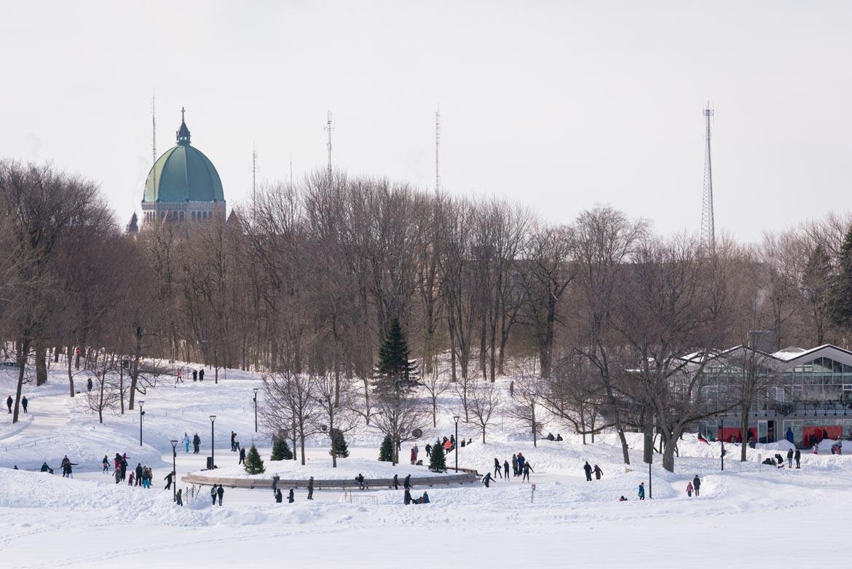 mont royal winter activities