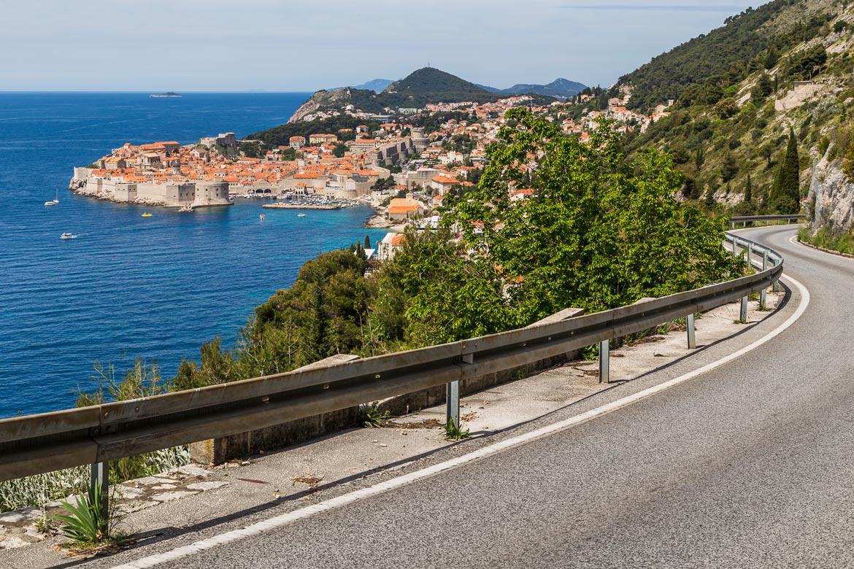 roads in croatia