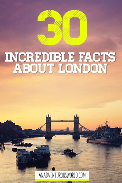 facts about london