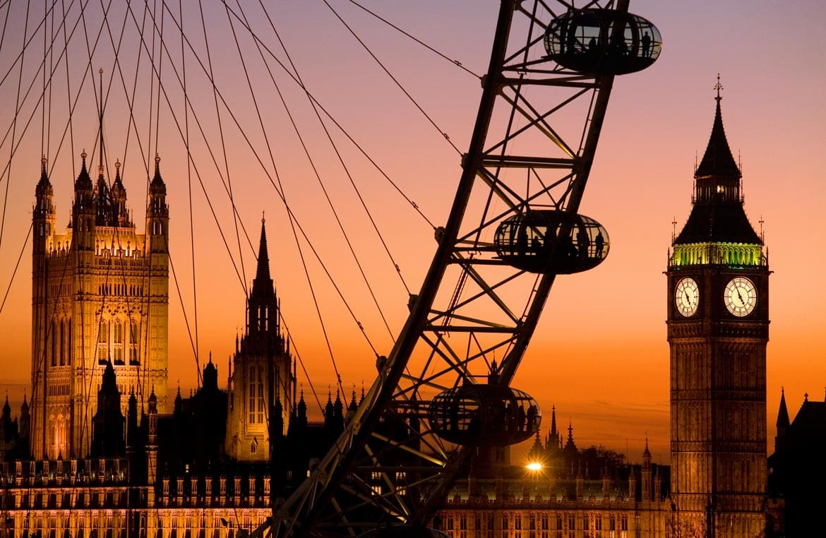 size of the london eye