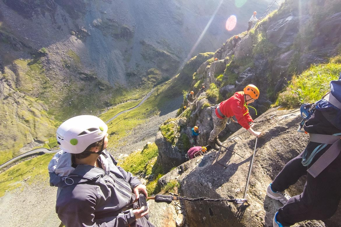 via ferrata uk