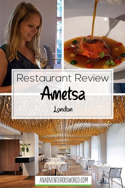 ametsa restaurant review