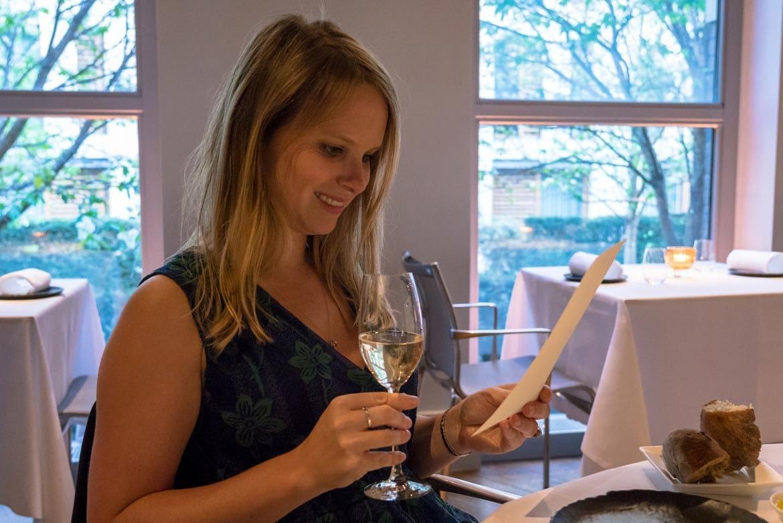 champagne at ametsa