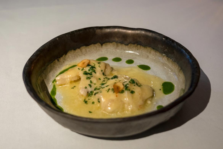fish course ametsa