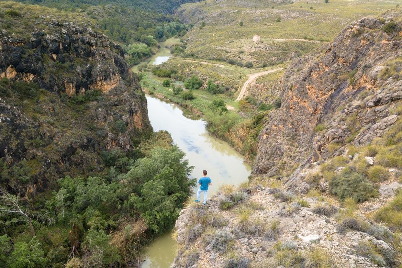hiking the segura river