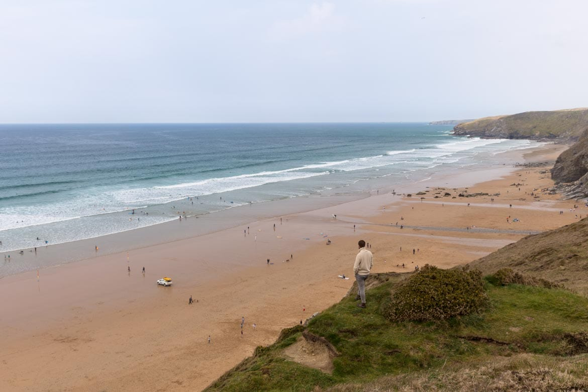 hiking watergate bay newquay