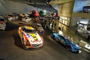 cars at mercedez benz museum
