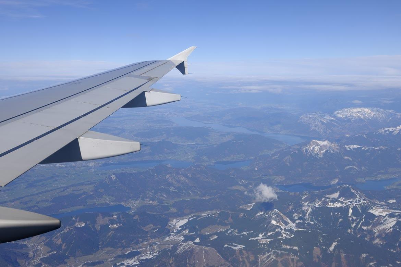 flying to salzburg