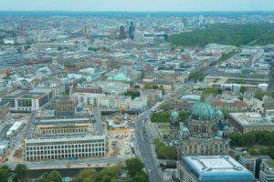 view from berlin fernsehturm