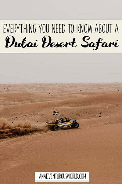 Everything You Need to Know About Going on a Jeep Safari in Dubai