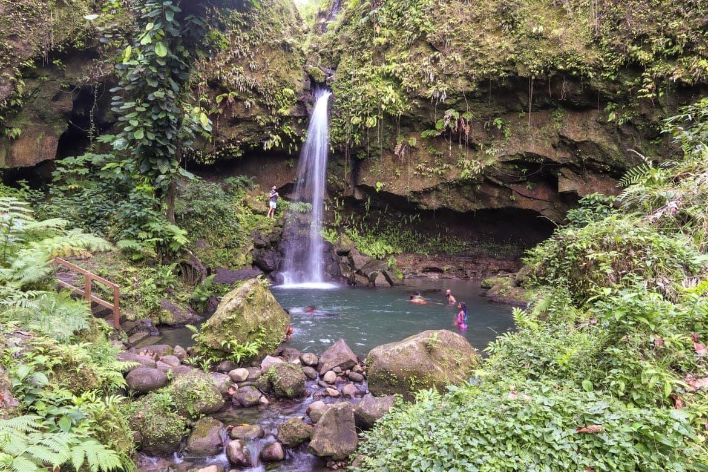 emerald pool dominica