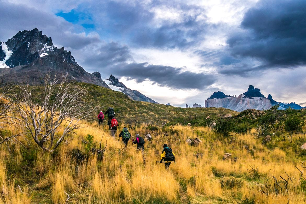 other routes in torres del paine