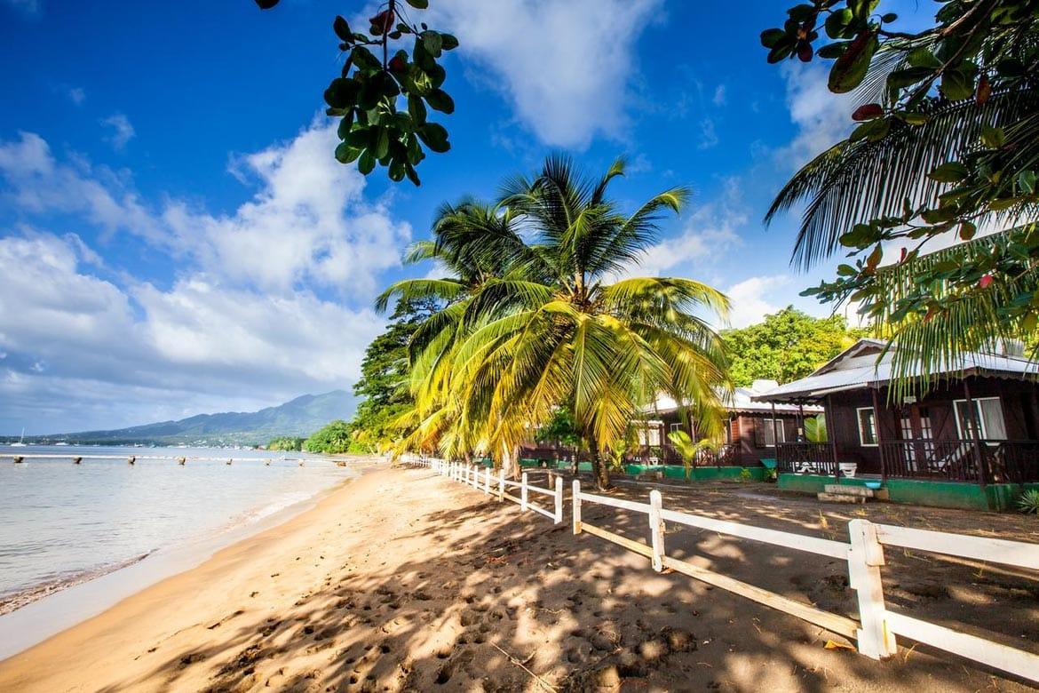 picard beach cottages dominica
