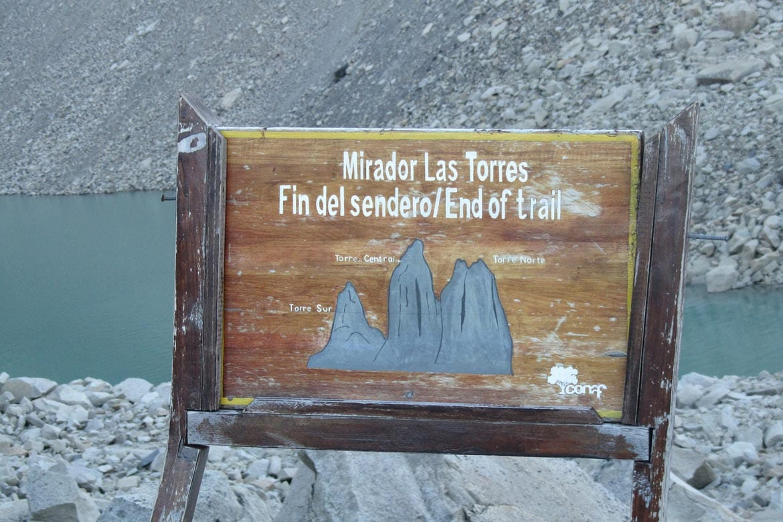 trekking in chile